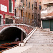 Colorful canal Venice, Italy — Stock Photo #3822230