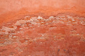 Old wall brick and stucco — Stock Photo