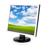 monitor de la computadora aislada — Foto de Stock