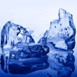 Stock Photo: Ice blue