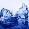 Ice blue — Stock Photo