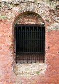 Castle window — Stock Photo