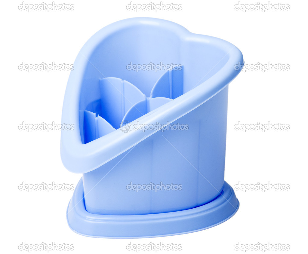 Plastic dryer on a white background — Stock Photo #3909055