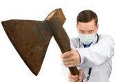 Dr. murderer — Stock Photo