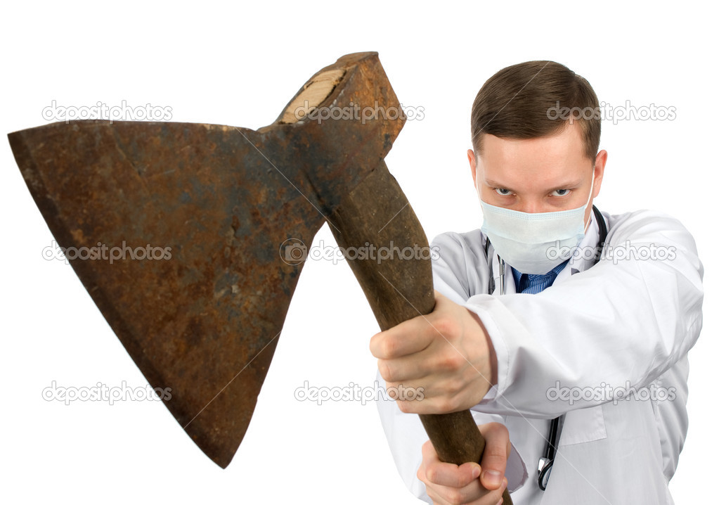 Dr. murderer — Stock Photo #2697755