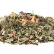 Dried flowers and tea leaves — Stock Photo