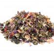 Heap of herbal tea — Stock Photo