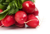 A bunch of radishes — Stock Photo