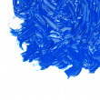 Blue oil paint — Stock Photo #2953335