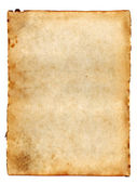 Old blank paper — Stock Photo