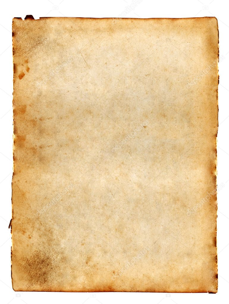 Old blank paper — Stock Photo © spaxiax #3084171