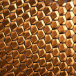 Glowing Honeycomb Structure — Foto Stock