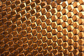 Glowing Honeycomb Structure — Stock Photo