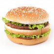 Tasty big hamburger — Stock Photo #3224512