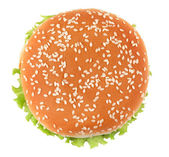 Tasty hamburger — Stock Photo
