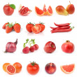 Food collection. All red. — Stock Photo #3275070