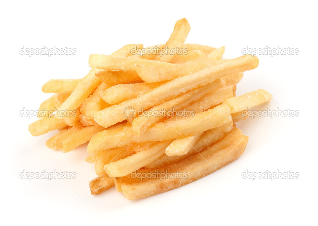French Fries isolated on a white background — Stock Photo #3274844