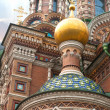 Cathedral of the Saviour on Spilled Blood — Stok fotoğraf
