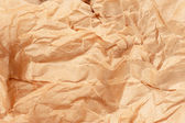 Crumpled brown paper — Stock Photo