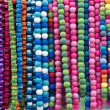 Varicoloured beads — Stock Photo