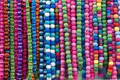 Varicoloured beads — Stock Photo