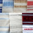 Ukrainian towels — Stock Photo