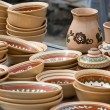 Ukrainian tableware - Stock Photo