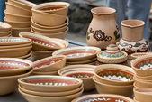 Ukrainian tableware — Stock Photo
