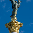 Statue of independence of Ukraine — Stock Photo #3257004