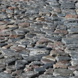 Cobblestone road background - Stock Photo