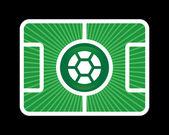 Football background 1 — Stock Vector