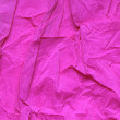 Crushed Pink Paper — Stock Photo