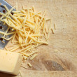 Grated Cheese — Stockfoto