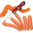 Sliced Carrots - Stock Photo