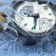 Stock Photo: Frozen Time