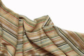 Colored Striped Fabric Background — Stock Photo