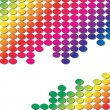 Rainbow background 2 - Stock Vector