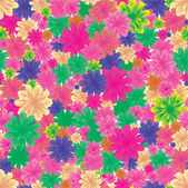 Floral seamless background, part 2 — Stock Vector