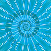 Abstract blue spiral — Stock Vector
