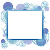 Frame for text — Stock Vector