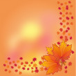 Royalty-Free Stock Vectorielle: Autumn background, part 1