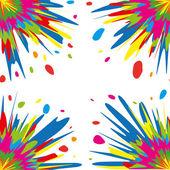 Colorful splash — Stock Vector