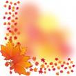 Autumn background, part 2 — Stock Vector