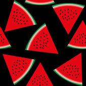 Seamless watermelon, part 2 — Stock Vector