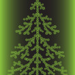 Fir-tree - Stock Vector