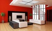 Moderno interior de una habitación — Foto de Stock