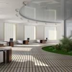 interior moderno de la oficina — Foto de Stock