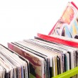 Records collection - Stock Photo