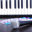 Tools for singer - Stock Photo