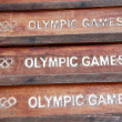 Stock Photo: Olympic games symbol